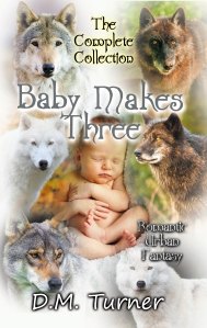 Cover image for the BABY MAKES THREE short story collection