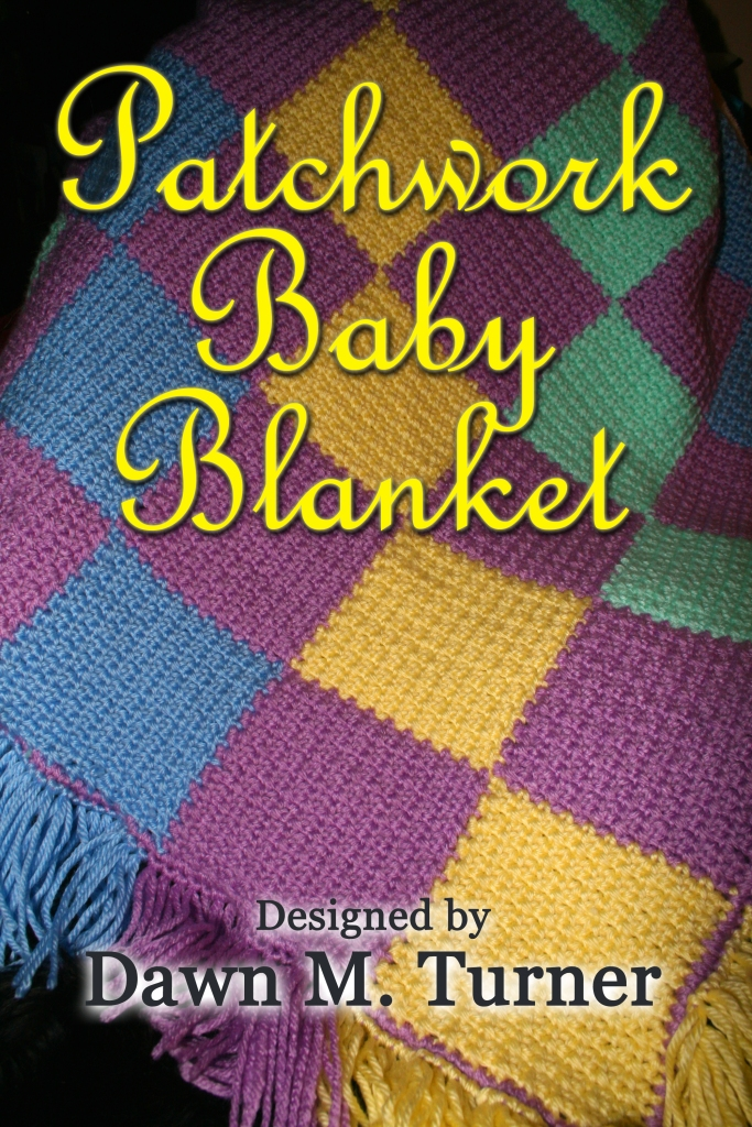 Cover image for the Patchwork Baby Blanket pattern