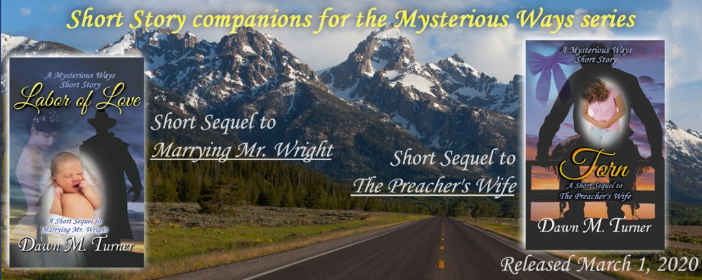 Image depicting the covers of the short story companions to the Mysterious Ways series - click on it to be taken to the page with descriptions.